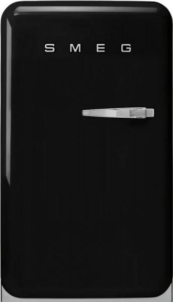 Frigider cu 1 ușă, retro, 50's Style, 97 cm, 135 l, negru, balamale în stânga, Smeg FAB10HLBL5