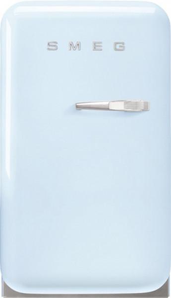 Frigider cu 1 ușă, retro, 50's Style, 73 cm, 34 l, albastru deschis, balamale în stânga, Smeg FAB5LPB5