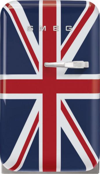 Frigider cu 1 ușă, retro, 50's Style, 73 cm, 34 l, union jack, balamale în stânga, Smeg FAB5LDUJ5