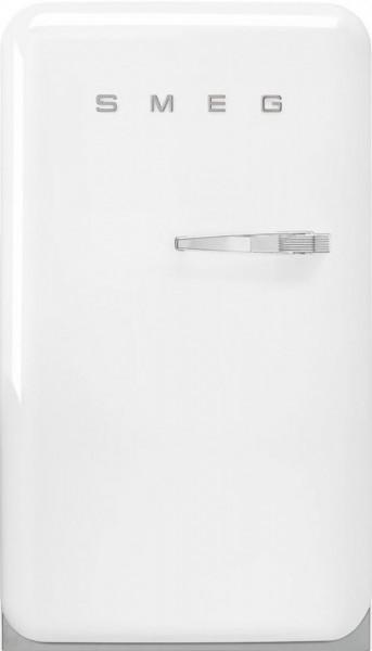 Frigider, retro, 50's Style, 97 cm, 105/17 l, alb, balamale în stânga, Smeg FAB10LWH5