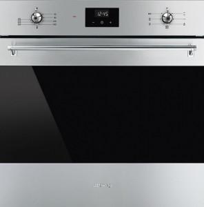 Cuptor încorporabil, electric, 60 cm, clasa A, Smeg SF6300VX