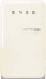 Frigider cu 1 ușă, retro, 50's Style, 97 cm, 135 l, smântână, balamale în stânga, Smeg FAB10HLCR5