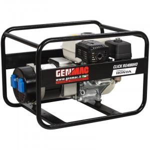 Generator curent GENMAC CLICK RG4000HO, 3.4kWA, monofazat, motor Honda GP200, 5.8 CP