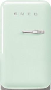Frigider cu 1 ușă, retro, 50's Style, 73 cm, 34 l, verde pastel, balamale în stânga, Smeg FAB5LPG5