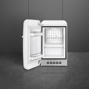 Frigider cu 1 ușă, retro, 50's Style, 73 cm, 34 l, alb, balamale în stânga, Smeg FAB5LWH5