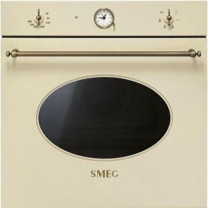 Cuptor incorporabil, Colonial, electric, multifunctional, 60cm, crem, Smeg SF800PO
