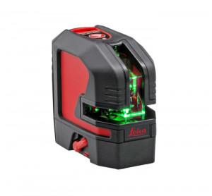 Nivela laser verde cu linii in cruce Leica LINO L2G