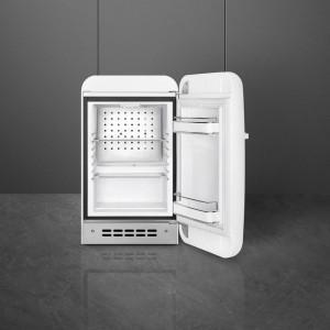 Frigider cu 1 ușă, retro, 50's Style, 73 cm, 34 l, alb, balamale în dreapta, Smeg FAB5RWH5