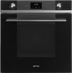 Cuptor încorporabil electric, Linea, 60 cm, negru, Smeg SF6100VN1