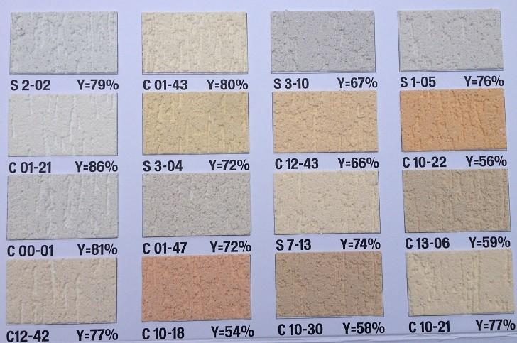 Paleta De Culori Tencuiala Decorativa.Tencuiala Duraziv Cu Silicon Paletar