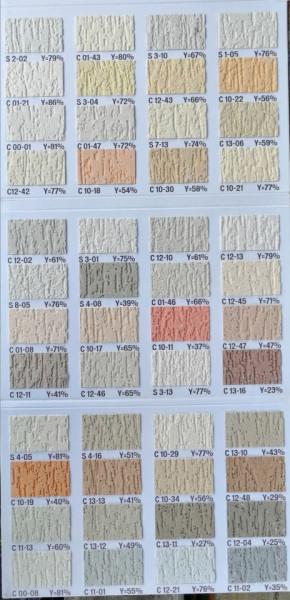 Catalog culori Duraziv cu silicon