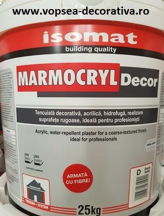 Isomat Marmocryl decor tencuiala decorativa