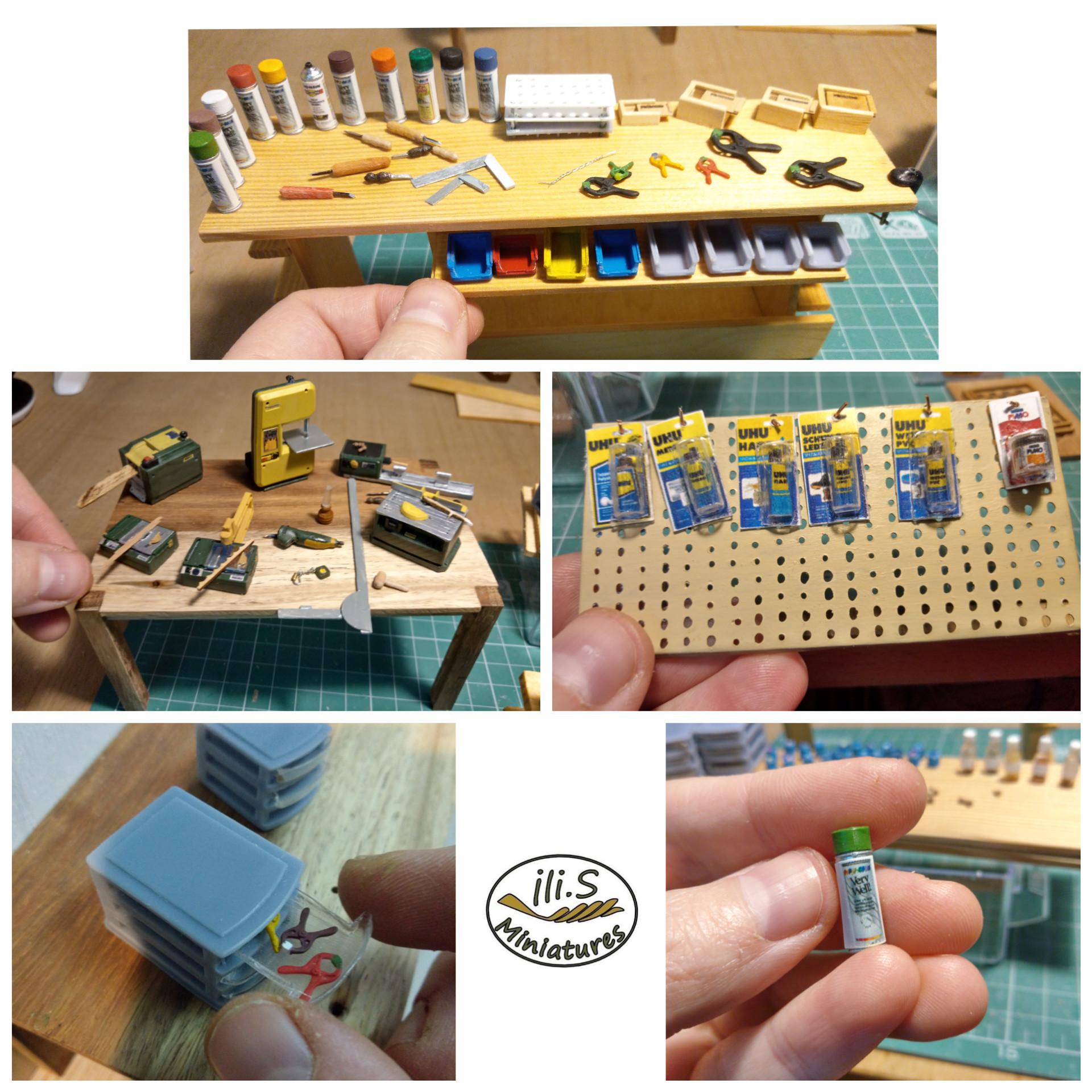 Scule și accesorii pentru atelier