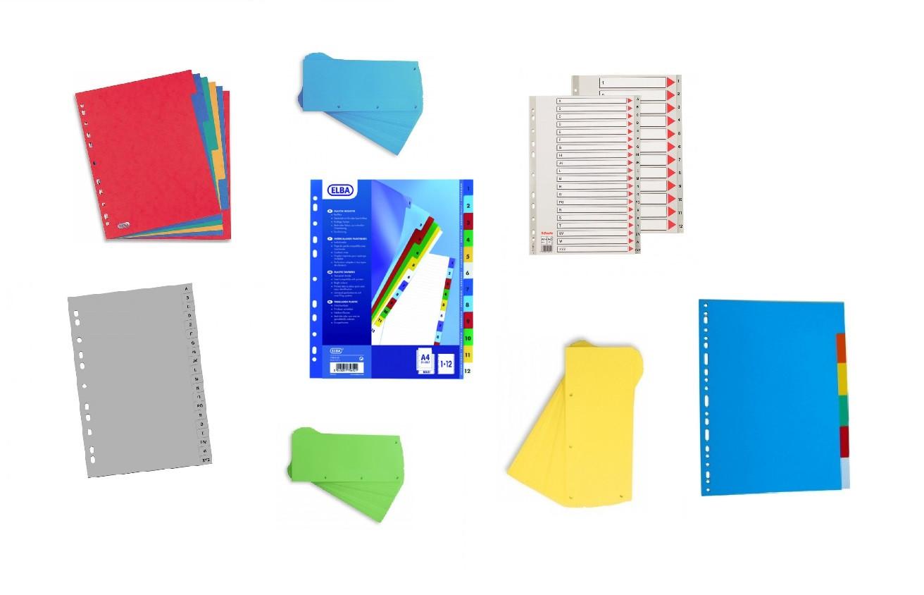 Separatoare Carton & Plastic