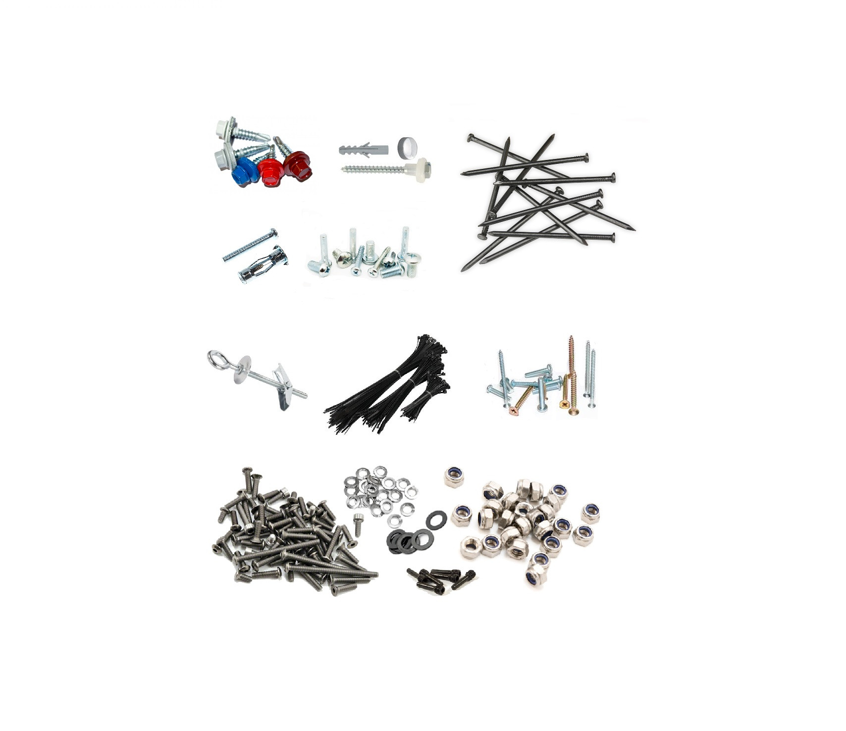Suruburi, Dibluri, Cuie & Accesorii uz general