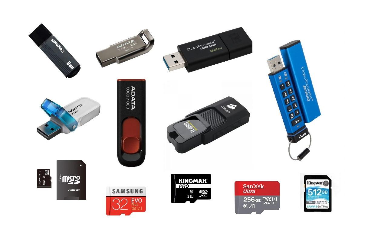 Memorii USB, stick, micro SD, SDH, FLASH