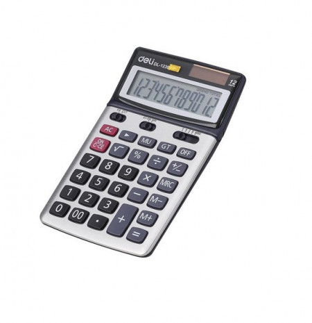 Calculator birou 12 digit Deli Smart 1239