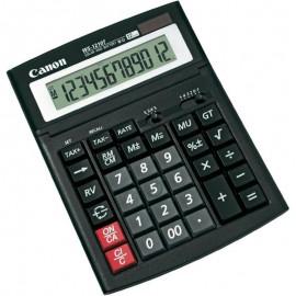 Calculator birou Canon WS-1210T, 12 digiti, display LCD, alimentare solara si baterie