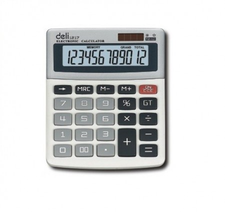 Calculator de birou 12 Digits Deli 1217