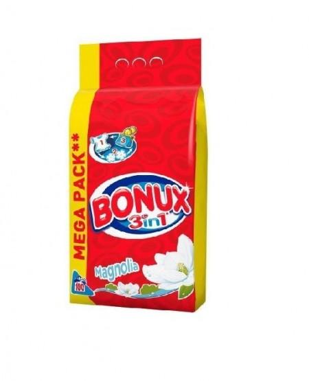 Detergent Bonux Automat 3 in 1 Magnolie 10KG