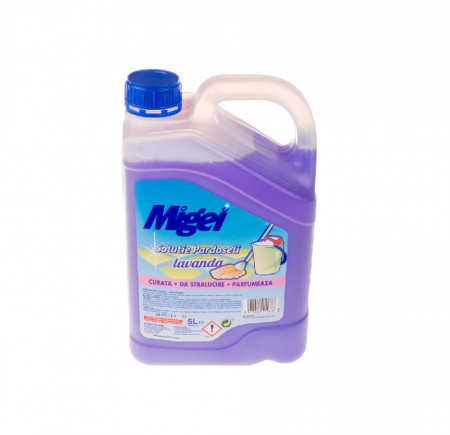 Detergent pardoseli Asevi Migei 5L- Lavanda, Trandafir