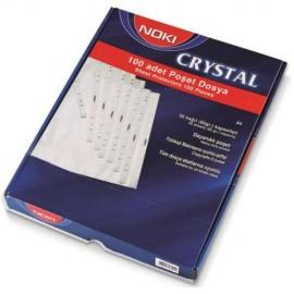 Folie protectie A4 Noki Cristal 90microni 100/set