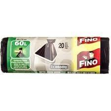 Saci menaj, 60L, Fino Economy 20 buc/rola