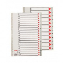 Separatoare Index A-Z Plastic Maxi Esselte