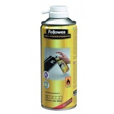 Poze Spray cu aer comprimat   Fellowes 400 ml de curatat tastatura