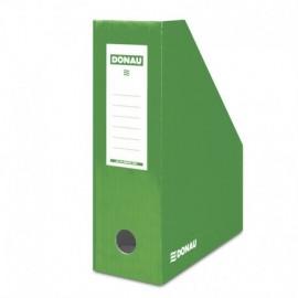 Suport vertical pentru cataloage, A4 - 10cm , carton laminat, DONAU diverse culori