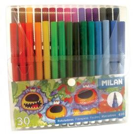 Carioca 30 culori vârf conic Milan