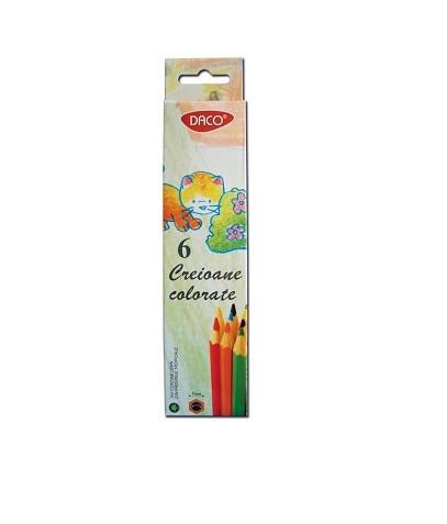 Creion color 6 culori Daco