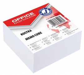 Cub hartie 85x85x40mm, Office Products - hartie alba