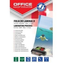 Folie pentru laminare 65 x 95 mm, 125 microni 100buc/top Office Products