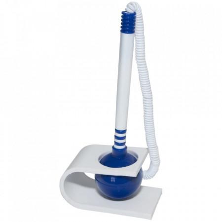 Pix cu suport autoadeziv si snur, Office Products, albastru
