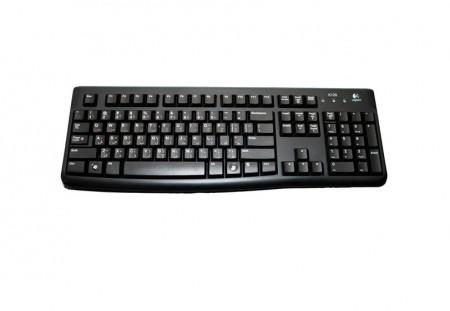 Tastatura Logitech K120 cu fir, USB, Black