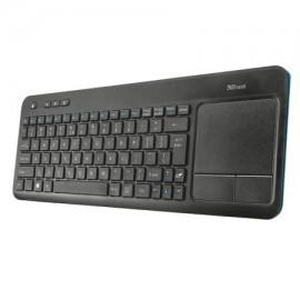Tastatura Wireless Trust Veza cu touchpad pentru Smart Tv