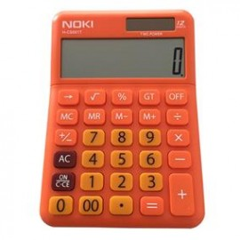 Calculator Birou 12 Digiti HCS001 portocaliu Noki