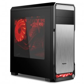 Poze Carcasa Gaming Segotep The Wind Black ATX  + 2 coolere 120mm