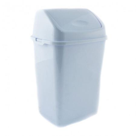 Cos gunoi cu capac batant 18 L