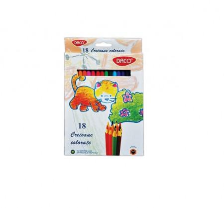Creion color 18 culori Daco