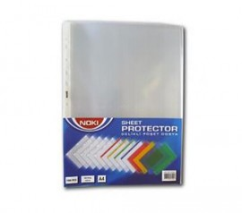 Folie de protectie Noki Crystal 45 microni A4 100 folii/set