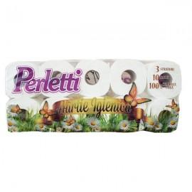 Hartie igienica Perletti 3 straturi 10 role