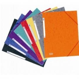 Mapa carton 450g/mp, cu elastic, ELBA Eurofolio - diverse culori