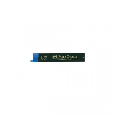 Mine Creion 0.7 mm, 2B Super Polymer Faber-Castell, 12 Buc/Cut