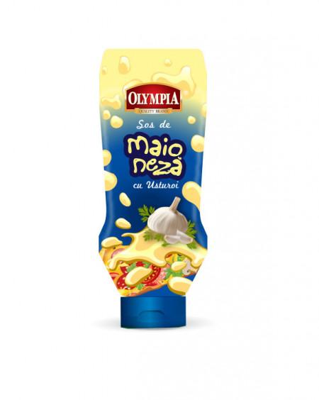 Sos de maioneza cu usturoi Olympia tub 500ml