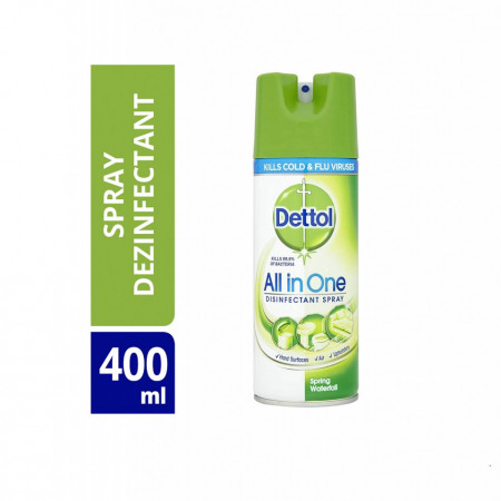 Spray dezinfectant suprafete Dettol Spring Waterfall, 400 ml