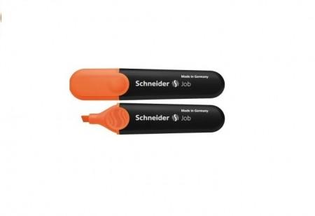 Textmarker SCHNEIDER Job, varf tesit 1 5mm - orange