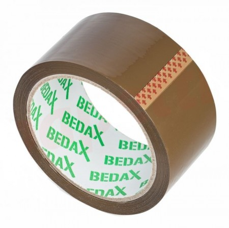 Banda adeziva ambalare 48mm x 66 Bedax,maro