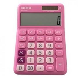 Calculator Birou 12Digiti HCS001 Roz Noki